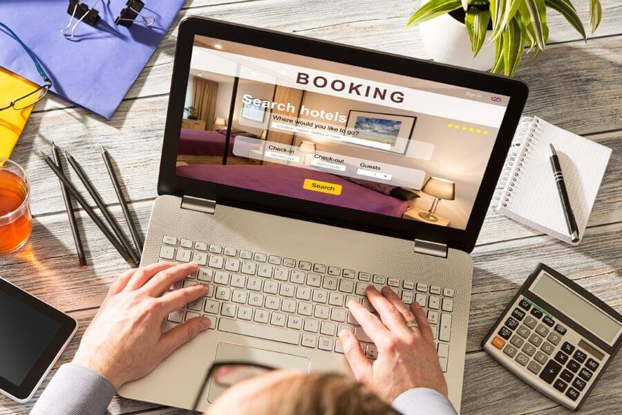 different types of online booking scams